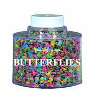 Dean Jacob's Dean Jacobs Butterflies Stacking Jar, 2.8-Ounce (Pack of 6)