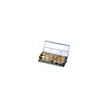 Kryolan DermaColor 24 Color Palette Makeup 71008 - Show
