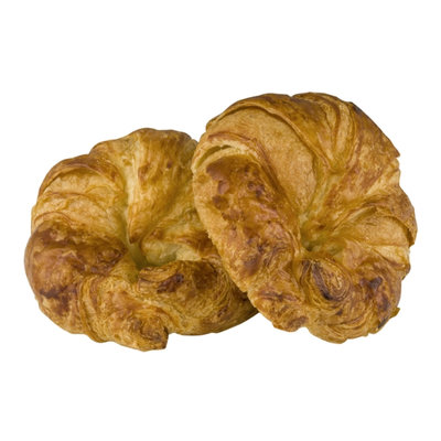 La Boulangerie Bakery & Cafe Croissants Plain - 2 CT