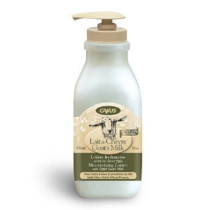 Canus Goat's Milk All Natural Moisturizing Lotion with Pump