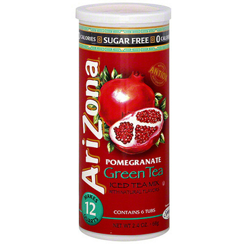 Arizona Sugar Free Pomegranate Iced Green Tea Mix