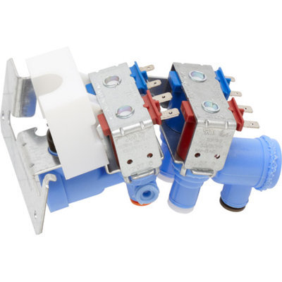 GE Water Inlet Valve and Bracket Assembly, WR57X10026
