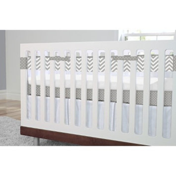 SootheTime Grey Crib Liner