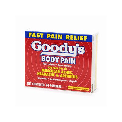 Goody's Back and Body Pain Formula