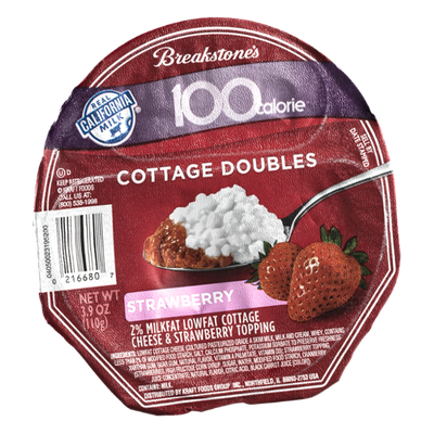 Breakstone 100 Calorie Cottage Doubles Strawberry