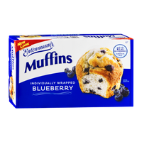 Entenmann's Blueberry Muffins - 6 CT