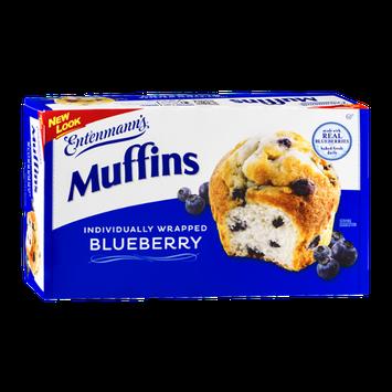 Entenmann's Blueberry Muffins - 6 CT