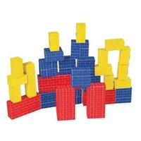 Melissa & Doug 40 pc Deluxe Cardboard Blocks by