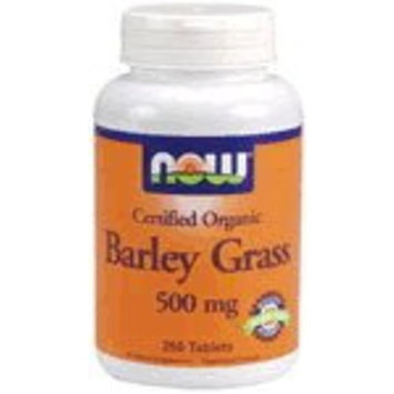 NOW Foods - Barley Grass 500 mg. - 250 Tablets