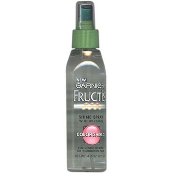 Garnier Fructis Shine Spray with UV Filters Color Shield for Color-Treated or Highlighted Hair 125ml/4.2oz