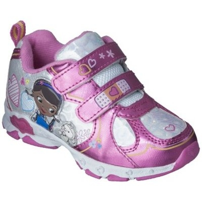 Disney Toddler Girl's Doc McStuffins Sneakers - Pink 9
