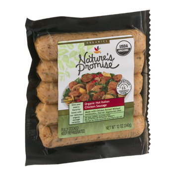 Nature's Promise Organic Hot Italian Chicken Sausage