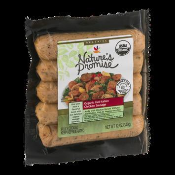 Nature's Promise Organic Hot Italian Chicken Sausage