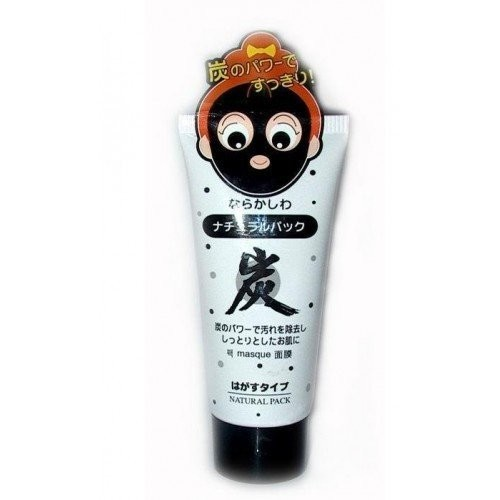 Daiso Japan Natural Pack Charcoal Peel Off Mask 80g