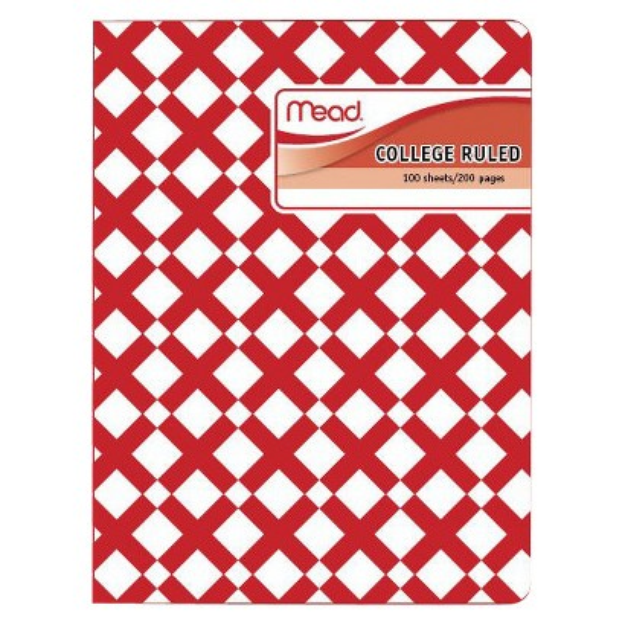 Mead College Ruled 100ct Composition Notebook