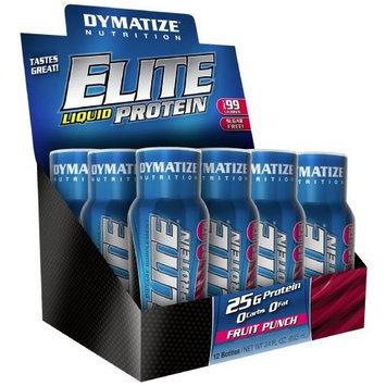 Dymatize Nutrition Elite Liquid Protein, Fruit Punch, 24 Fl oz.