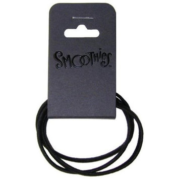 Smoothies Flat Brown Metal Free Pony Tail Holders