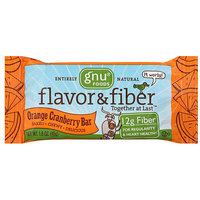 Gnu Food s Orange Cranberry Fiber Bars