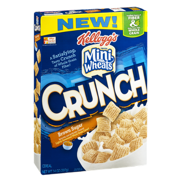Kellogg's Frosted Mini Wheats Crunch Cereal Brown Sugar