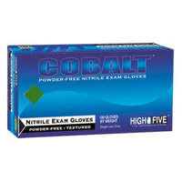 Onyx High Five Cobalt Nitrile Exam Gloves - Blue (XL)