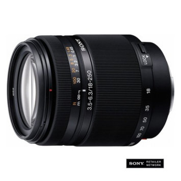 Sony 18mm-250mm High Magnification Zoom Lens - Black (SAL18250)