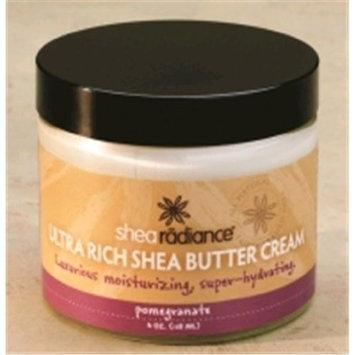 Shea Radiance Butter Cream 2 fl oz Pomegranate