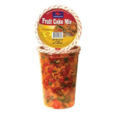 Pennant Fruit Cake Mix, 32 Ounce Tubs (Pack of 3)
