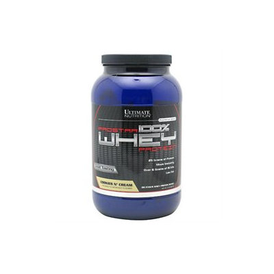 Ultimate Nutrition Prostar 100% Whey Protein - 2 Lbs. - Cookies Cream