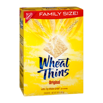 Nabisco Original Family Size Wheat Thins Crackers