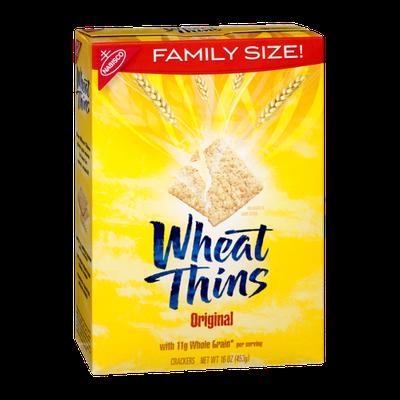 Nabisco Original Family Size Wheat Thins Crackers