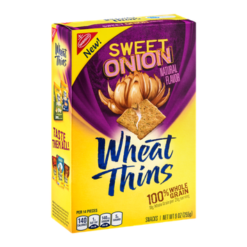 Nabisco Wheat Thins Sweet Onion