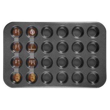 Wilton 24 Cup Mini Muffin Pan - Black