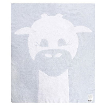 Love by Little Giraf LOVE Cloud Knit Giraffe Blanket - Blue