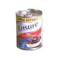 Ross Nutrional Ensure Plus Milk Chocolate Cans 24 X 8oz Case