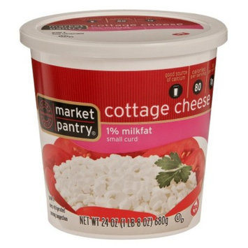 market pantry Market Pantry 1% Milkfat Small Curd Cottage Cheese 24-oz.