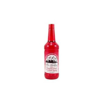 Kegworks Fee Brothers Red Passion Fruit Cordial Syrup: 12.8 oz