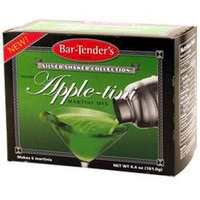 Kegworks Appletini Bar-Tenders Instant Cocktail Mix: Box - 6 Pouches