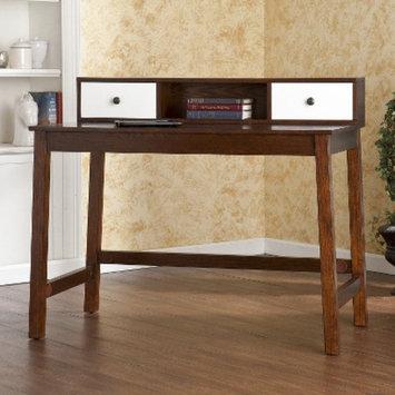 Writing Desk: Southern Enterprises Albert Desk - Dark Brown