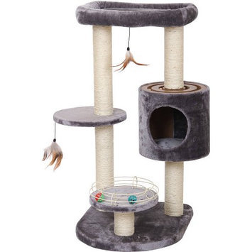 Petpals Group PetPals Infinity Luxury Cat Furniture with Multiple Racing Toys