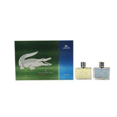 Lacoste Gift Set (Essential Sport Men Eau De Toilette, Essential Spray, Eau de Toilette Essential Sport Spray)