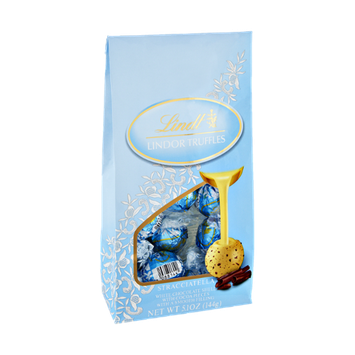 Lindt Lindor Stracciatella White Chocolate Truffles