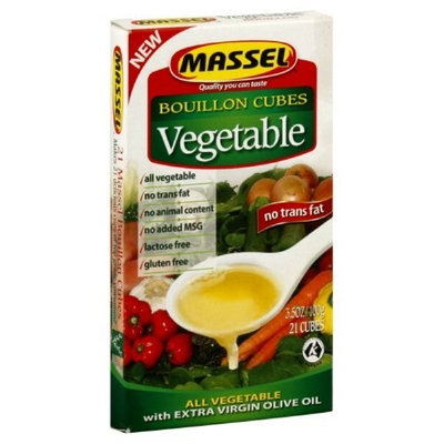 Massel Ultracubes, Vegetables, 3.5-Ounce (Pack of 6)