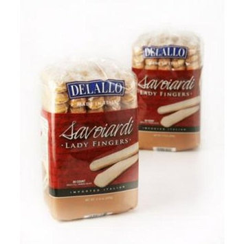 Delallo Savoiardi Lady Fingers, 7-Ounce (Pack of 6)