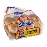 Schmidt Sunbeam Hot Dog Rolls - 8 CT