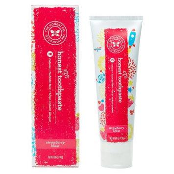 The Honest Company Honest Kid's Fluoride-Free Toothpaste Strawberry Blast - 6 oz.