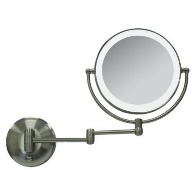 Zadro Next Generation LED Oval Lighted Vanity Mirrors- 1X & 10X