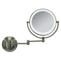 Zadro Next Generation LED Oval Lighted Vanity Mirrors- 1X & 10X