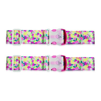 Set of 2 Travelon Luggage Strap - Floral Luggage Strap