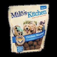 Milo's Kitchen Chicken Meatballs Home-Style Dog Treats