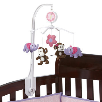 Little Bedding By Nojo Little Bedding by NoJo Tumble Jungle Musical Mobile - CROWN CRAFTS INFANT PRODUCTS, INC.